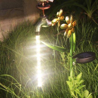 Solar Garden Stake Light Outdoor