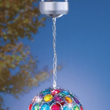 Solar LED Multi Color Hanging Ball