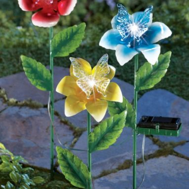 Solar Lighted Flowers