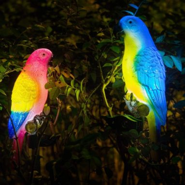 Solar Outdoor Decoration Lights- Parrot Light-Colored Decoration Lights