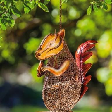 Squirrel Mesh Bird Feeder