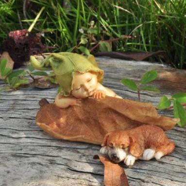 Story Fairy Garden Sleeping Fairy Baby