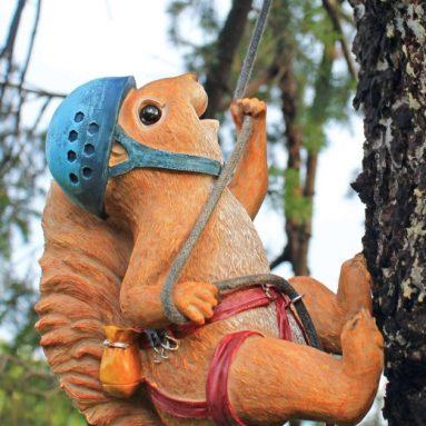 The Climbing Squirrel Statue