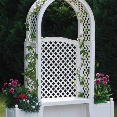 The Rosarium Archway Bench