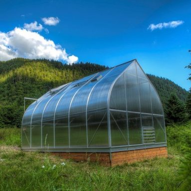Twin-wall Polycarbonate Greenhouse, ClimaPod Virtue Complete kit