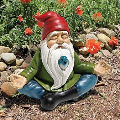 Zen Garden Gnome Statue