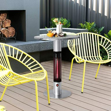 Bistro Table Infrared Electric Outdoor Heater