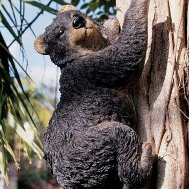the Climbing Bear Sculpture